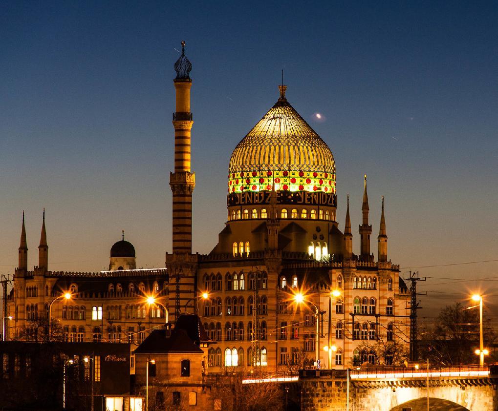 Dresden: Yenidze Kuppelrestaurant